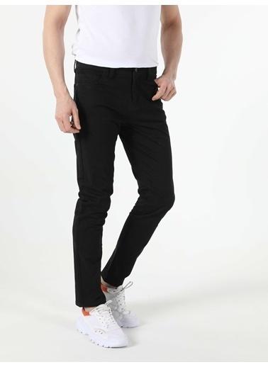 Colin's Straight Fit Düşük Bel Erkek Pantolon Siyah